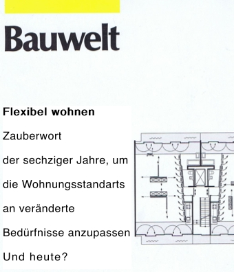 Bauweltcover